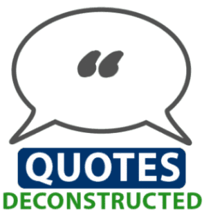 Quotes Deconstructed Everyday Sales